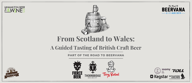 From Scotland to Wales: A Guided Tasting of British Beer