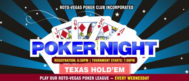 Poker Night – Texas Hold'em Tournament