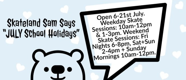 July School Holidays Indoor Skate Party