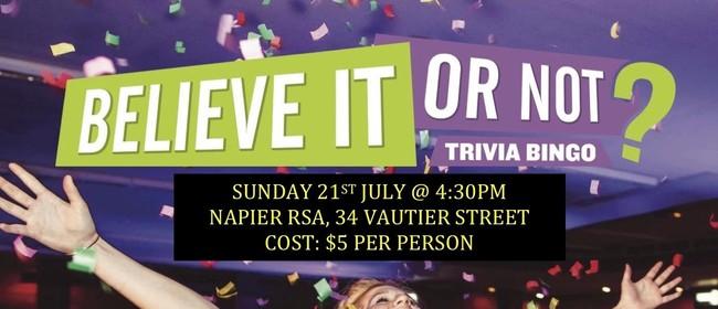 Fundraising Trivia Bingo Quiz