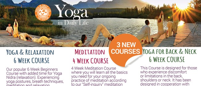 Yoga & Relaxation 6-Week Beginners' Course