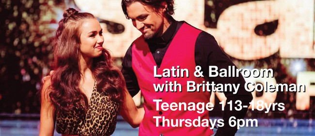 Latin & Ballroom 13-18 Yrs with Brittany Coleman