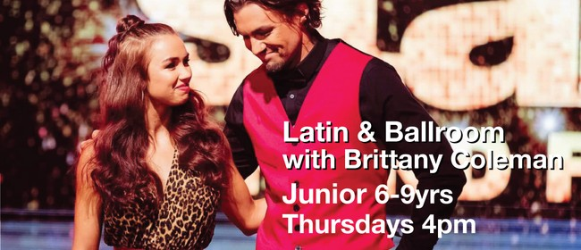 Latin & Ballroom 6-9 Years with Brittany Coleman