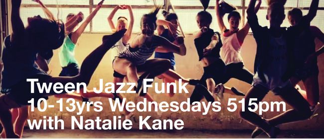 Jazz Funk 9-12yrs with Natalie