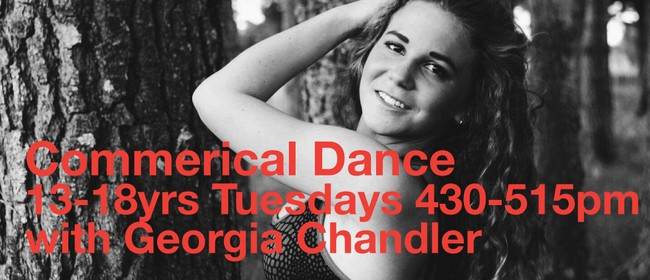 Commercial Dance 13-18 years with Georgia