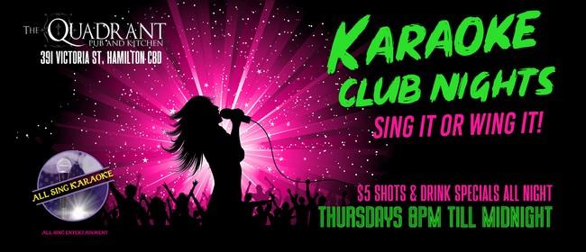 Karaoke Club Nights