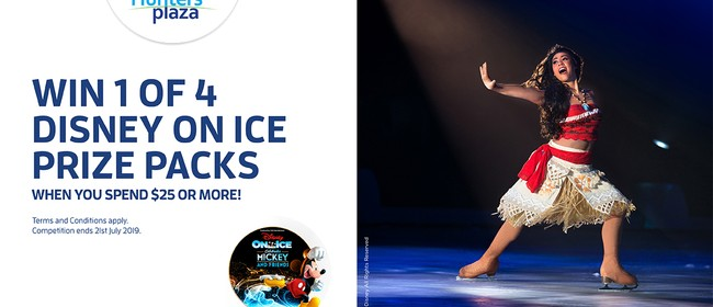 Win 1 of 4 Disney On Ice Prize Packs