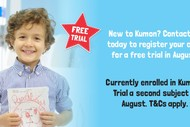 Two-weeks Kumon Maths and English Trial