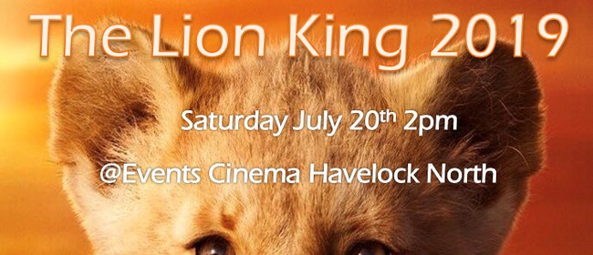 The Lion King 2019 Movie Fundraiser