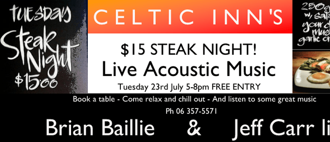 Steak Night ft. Brian Baillie & Jeff Carr