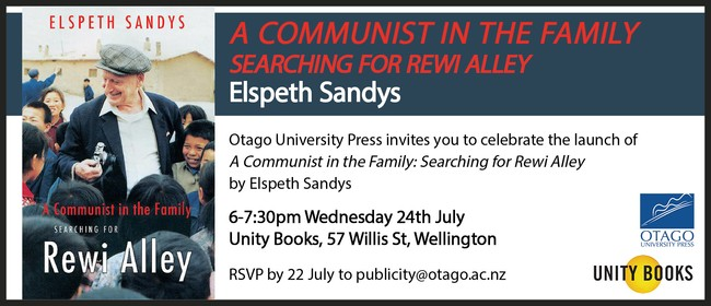 Book Launch: A Communist In The Family by Elspeth Sandys