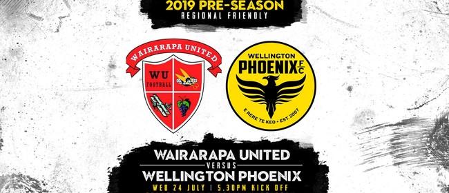 Wairarapa United vs Wellington Pheonix