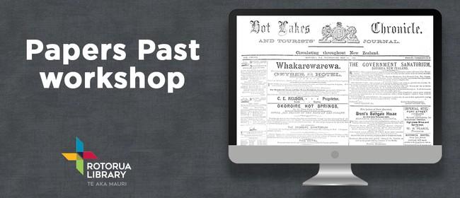 Papers Past Workshop