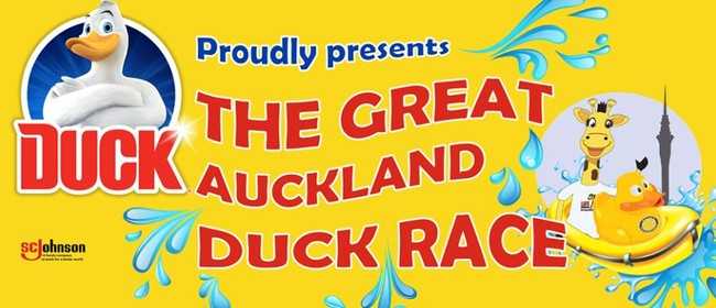 The Great Auckland Duck Race 2019
