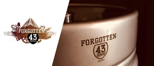 Forgotten 43 Brewing Tour & Tasting