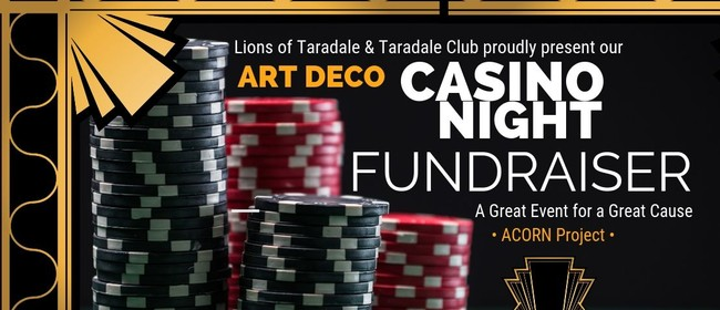 Casino Night: CANCELLED