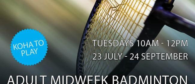 Adult Mid-week Badminton