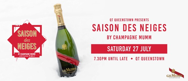 QT Queenstown presents Saison des Neiges by Champagne Mumm