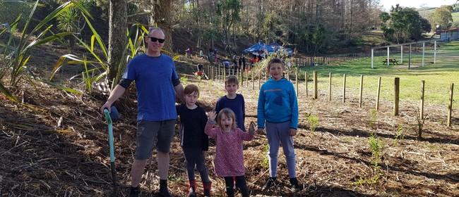 Wairakei Drive Community Planting Day