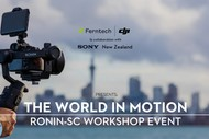 The World In Motion: DJI Ronin-SC Workshop