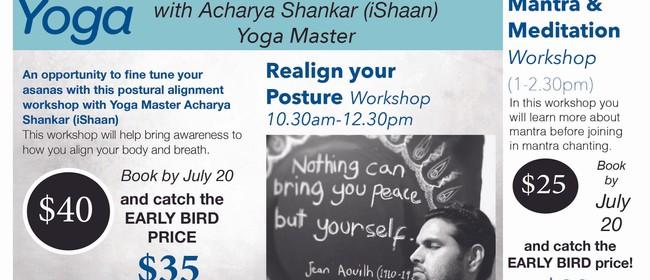 Realign Your Posture Workshop: CANCELLED