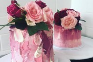 Watercolour Cake Class With Fresh Flowers