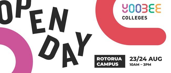 Open Day - Yoobee Colleges - Rotorua Campus