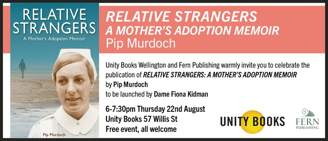 Book Launch - Relative Strangers: A Mother's Adoption Memoir