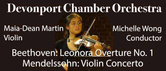 Devonport Chamber Orchestra - Mendelssohn Violin Concerto
