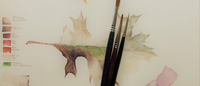 Botanical Watercolour - With Jenny Coker