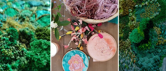 NZ Bush Inspired Embroidery Workshop with Fleur Woods