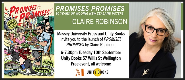 Book Launch - Promises Promises by Claire Robinson