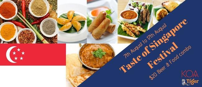Taste of Singapore Festival