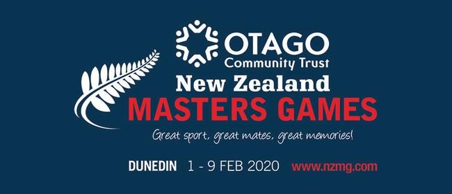 Otago Community Trust New Zealand Masters Games 2020