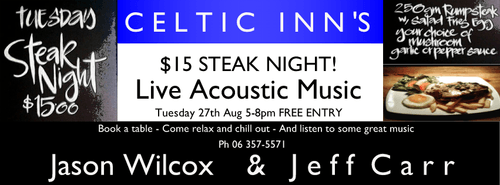 Steak Night ft. Jason Wilcox & Jeff Carr
