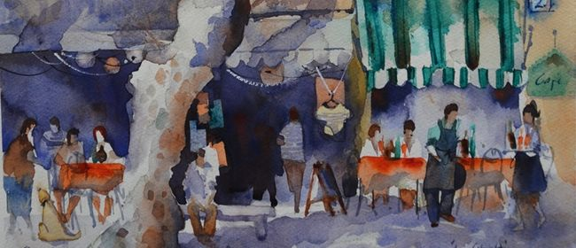 Beginners Watercolour - One Day Workshop With Amanda Brett