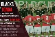 All Blacks Vs Tonga