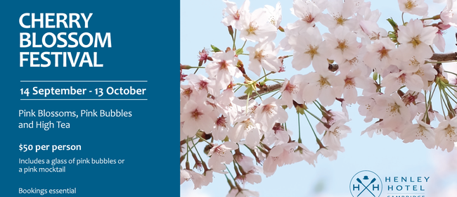 Think Pink - Blossoms, Bubbles, High Tea