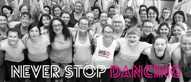 Never Stop Dancing – Monday Evening Dance Fitness Classes