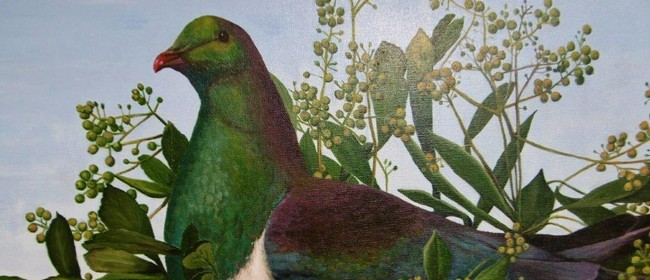 Birds; Recent Painting By Janice Hambly
