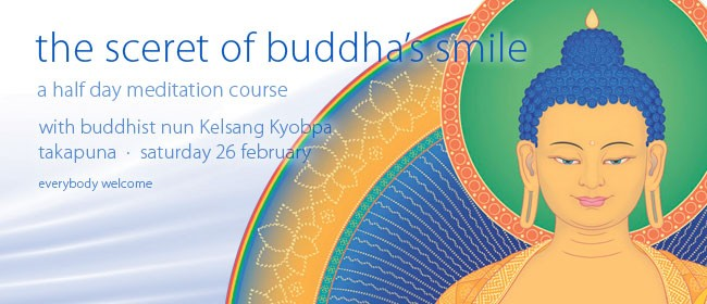 A Meditation Half Day Course: The Secret of Buddha's Smile