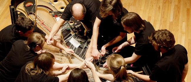 The Bowed Piano Ensemble (USA): Ensemble Performance