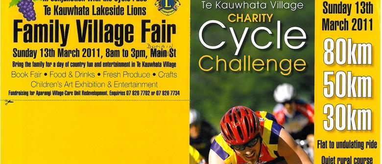 Te Kauwhata Village Charity Cycle Challenge