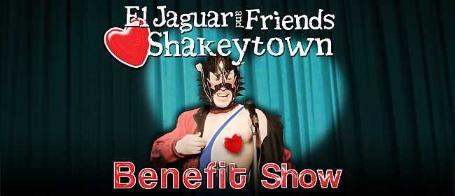 El Jaguar and Friends Heart Shakeytown
