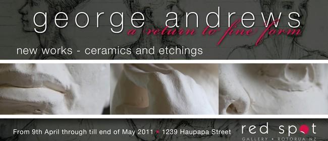 George Andrews: Sculpture & Drawing
