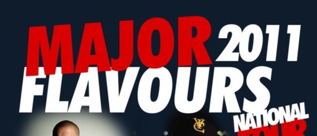 Major Flavours 11 Album Tour with DJ Sir Vere & Deach