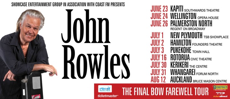 John Rowles - The Final Bow Farewell Tour: SOLD OUT
