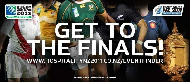 All Blacks vs France - Rugby World Cup Final