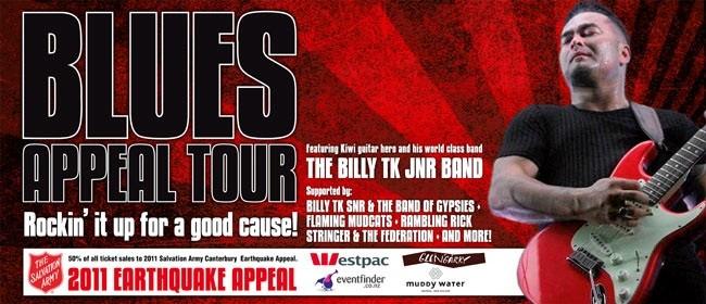 Blues for Christchurch Tour