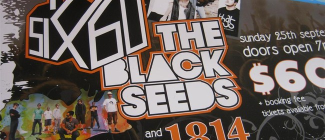 The Black Seeds, 1814 and Six60
